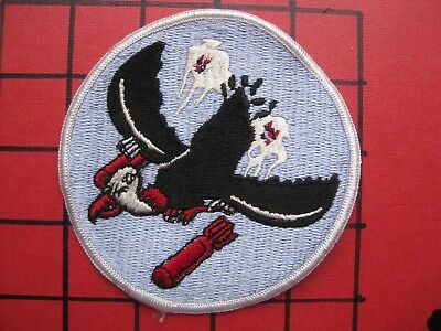 Original Squadron Patch Usafe 511 Tfs Raf Bentwaters Early A-10 Thick Us Made