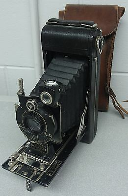 Vintage Kodak No. 1A Series III Folding Camera W/ Case