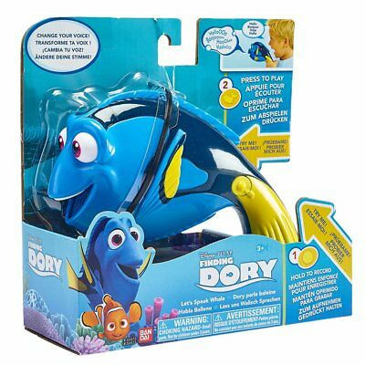 Bandai Disney Pixar Finding Dory Let's Speak Whale Voice Recorder And Changer