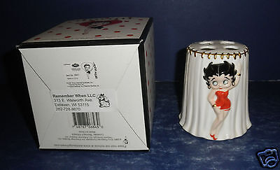 Westland Betty Boop Tooth Brush Holder- New in Box- #6843