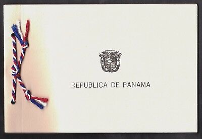 1947 PANAMA UPU Paris Congress Delegates Presentation Stamp Booklet