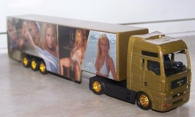 ???,MAN Truck with Trailer,Diecast,Loose,Scale 1:87