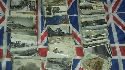 200  Foreign Postcards Used  Small Size  In   Fair Condition