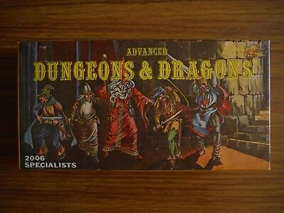 Advanced Dungeons & Dragons 2006 Specialists 10 pc set Boxed! Solid Gold Line