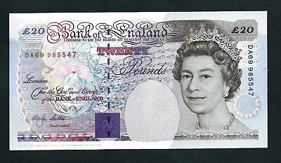 Bank of England (P387b) 20 Pounds Lowther 1993 aUNC