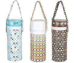 Single Thermal Insulator Insulated Bottle Warmer / Cooler