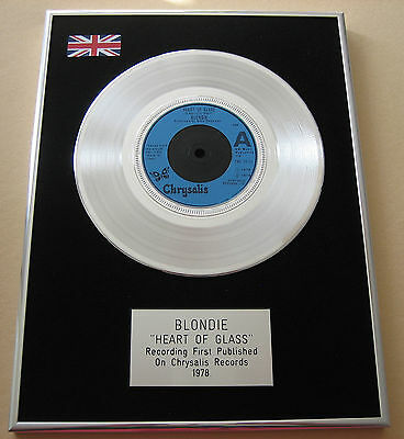 BLONDIE Heart Of Glass PLATINUM Single DISC Presentation