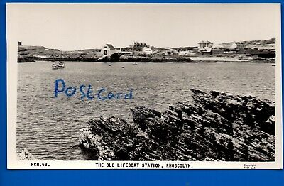 Rp  Frith Postcard Old Lifeboat Station Rhoscolyn Anglesey Ynys Mons Nr Holyhead