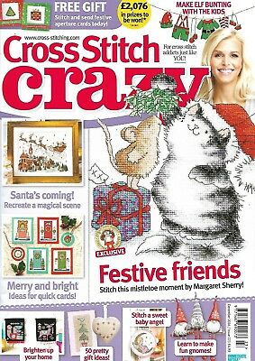 Cross Stitch Crazy magazine - issue 223 - December 2016 - Christmas projects!