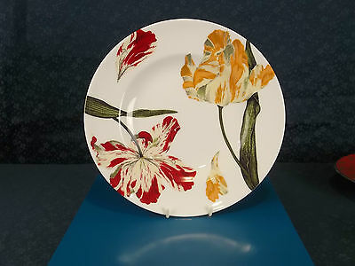 Royal Crown Derby Tulips NEW 27cm Dinner Plate