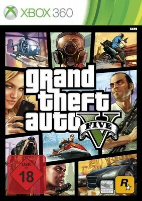 Microsoft Xbox 360 game - Grand Theft Auto V / GTA 5 (EN/GER) (boxed)