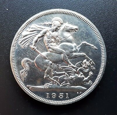 Festival Of Britain - 1951 King George Vi 5 Five Shilling Crown