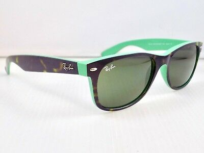 Ray Ban New Wayfarer Color Mix RB2132 6013 55mm lens & Case