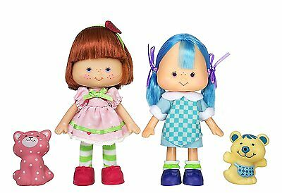 The Bridge Direct Strawberry Shortcake & Blueberry Muffin Dolls - NEW!