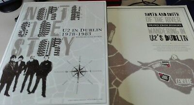 U2 Limited book North side story + Map