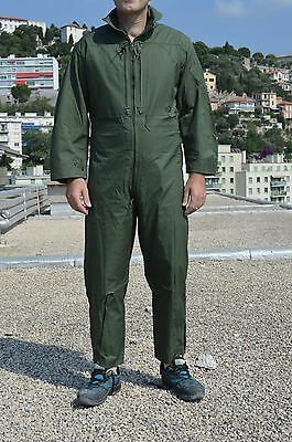 Combinaison aviation - Mécanicien - Armée de l'air - Kaki - Uniforme - Treillis