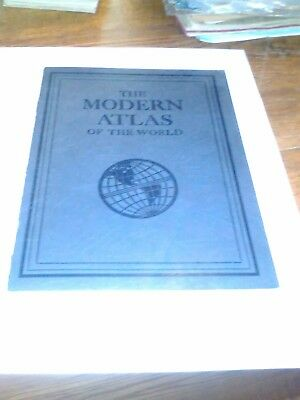 Modern Atlas 1930's Rand McNally