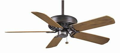 "CASABLANCA 50"" Brushed Cocoa Ceiling Fan Concentra 49B546D w/ BS21-WD Blades"