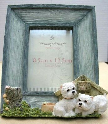 West Highland Terrier Photo Frame, Country Artists  Item 90759