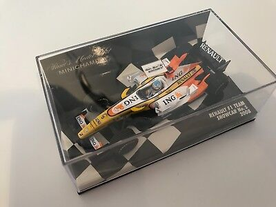 Minichamps - Renault R28 - 1/64 Scale - Alonso - Superb