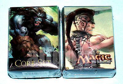 MAGIC CORE SET 9th EDITION Deck Box NUOVO MTG Llanowar Elves vs. Kird Ape