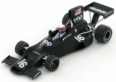 Spark 1:43 Shadow Dn3, Peter Revson, Brazil Gp 1974, Nla