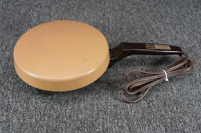 Vintage Oster Creperie Controlled Heat Crepe Maker Tan
