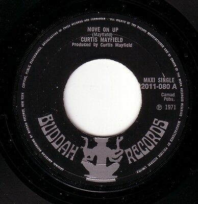 NORTHERN SOUL - Curtis Mayfield - Move On Up on UK Buddah - HEAR IT