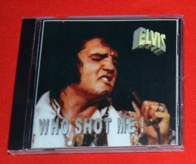 "Elvis ""Who Shot Me!"" MINT CD Chicago June 17th, 1972 Afternoon Fun CD NJ002"