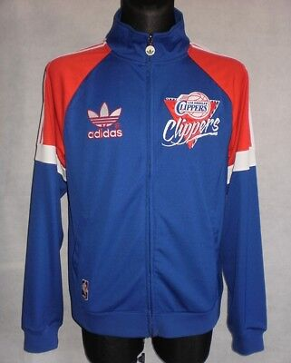 LOS ANGELES CLIPPERS adidas Originals Basketball NBA Jersey Tracksuit Top Jacket