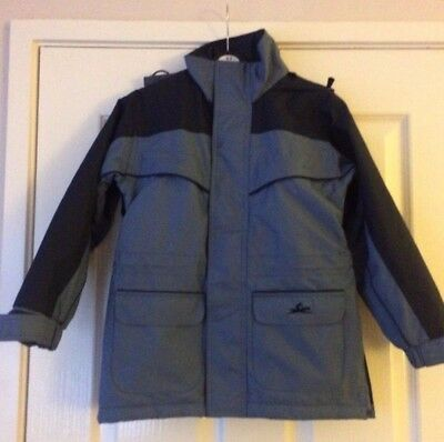 equitheme riding coat child age 6 height 116 cms