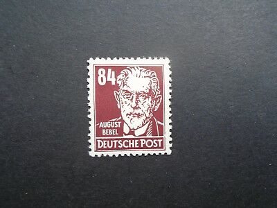 1953 Famous Men 84Pf Wz Posthorn Vf Mnh Ddr Germany Deutschland B663.40 0.99$