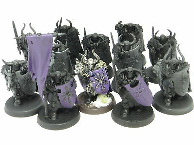 CHAOS WARRIORS x 12  -  Warhammer Slaves To Darkness Age Of Sigmar Army