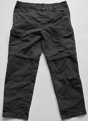 The North Face mens nylon hiking pants trousers shorts 2 in 1 size M/L ?