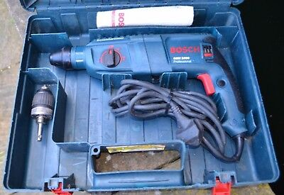 Bosch Gbh 2400 Professional Corded 230V Sds+ Rotary Hammer Drill With Carry Case