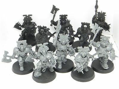 BLOOD WARRIORS x 10   - Age Of Sigmar Blades Of Khorne Chaos Warhammer Army