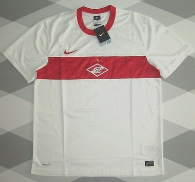 Bnwt Spartak Moscow Away Football Shirt Nike 11-12 Xl Russia New With Tags Rare
