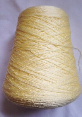 Cone Of Cascade Yellow 100% Acrylic 4 Ply Knitting Wool Yarn