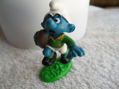 Spingbok South Africa rugby smurf, green sock version.