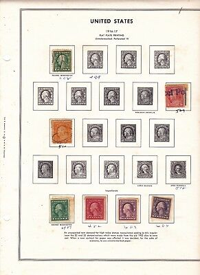 Stamps United States Collections And Lots