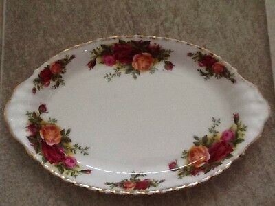 Royal Albert Old Country Roses Medium Size Shallow Oval Dish