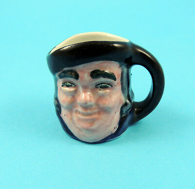 Vintage Hornsea Pottery 1950s Rare Miniature Character Jug in Full Colour