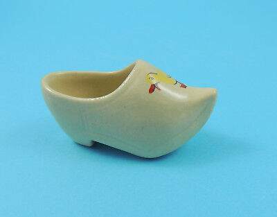 Vintage Hornsea Pottery 1950s Small Clog with Duck Motif