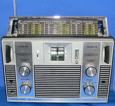 Barlow Wadley XCR-30 Mark 2 HF portable receiver 500 kHz to 30 MHz
