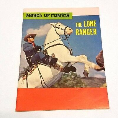 Rare Vintage 1967 The Lone Ranger March Of Comics - Silver's Capture Sears Book