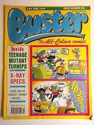 Buster comic, June 1990
