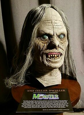 Distortions Unlimited The Cellar Dweller mask by TOM SAVINI MOTM not Don Post