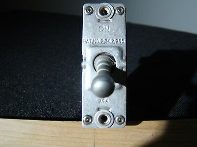 WWII and Later Aircraft circuit breaker Toggle Switch Cutler Hammer AN3160-5