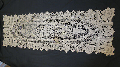 Vintage Heavy Lace Table Runner