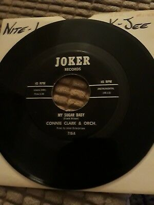 "Connie Clark & Orch My Sugar Baby 7""- Joker Records- Northern Soul"